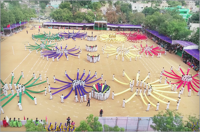 33rd Annual Sports Day Pushpalata Matriculation Higher Secondary